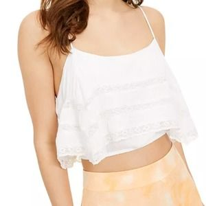 Free People Home Again Camisole White NWT M